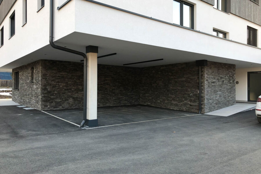 Steinverblender – Fassade – Privathaus W.
