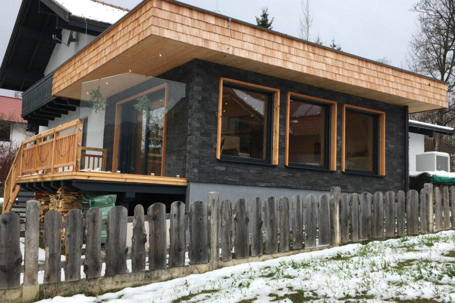Steinverblender – Fassade – Privathaus A.