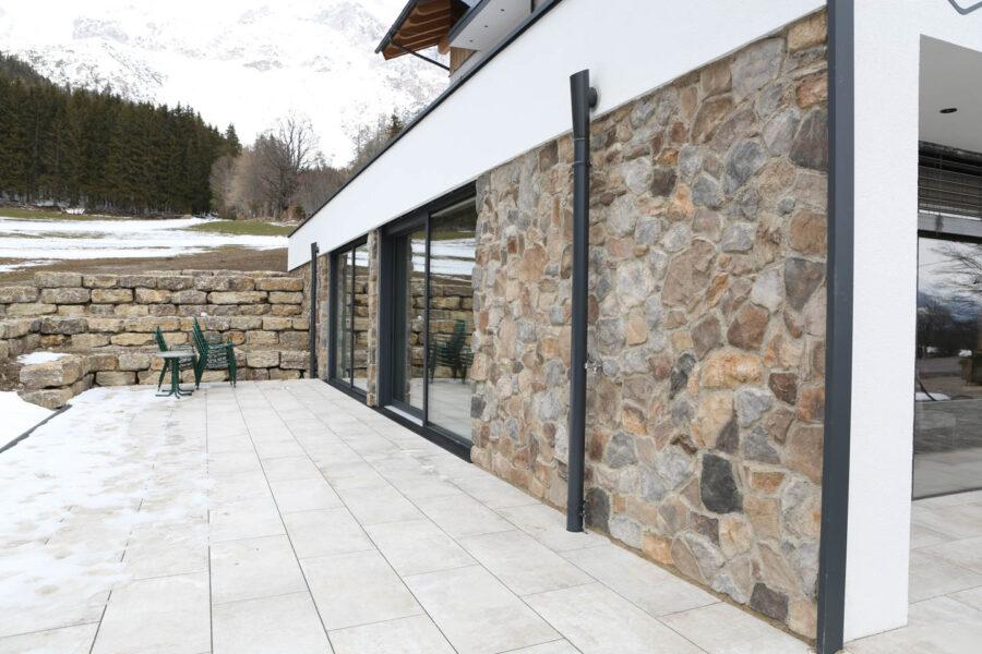 Steinverblender – Fassade