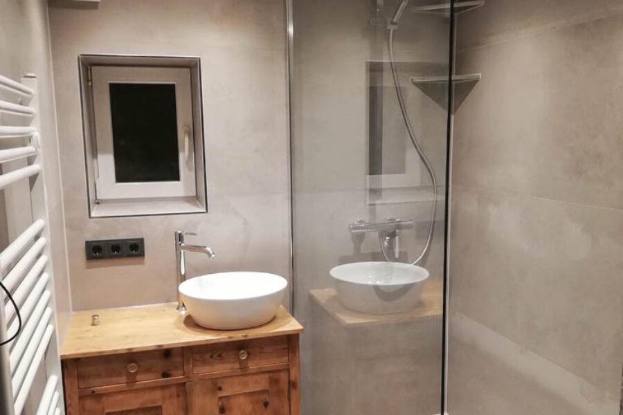 Vorher / Nachher – Badsanierung Privat